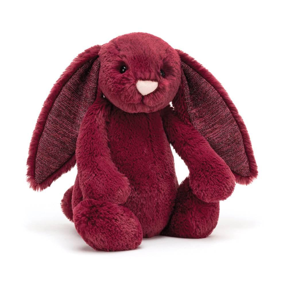 Jellycat Bashful Bunny Medium Sparkly Ears