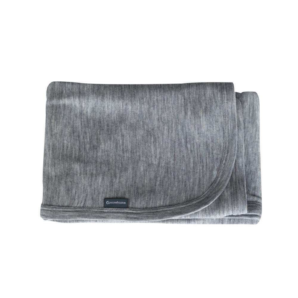 Deluxe Merino Rib Swaddle Blanket
