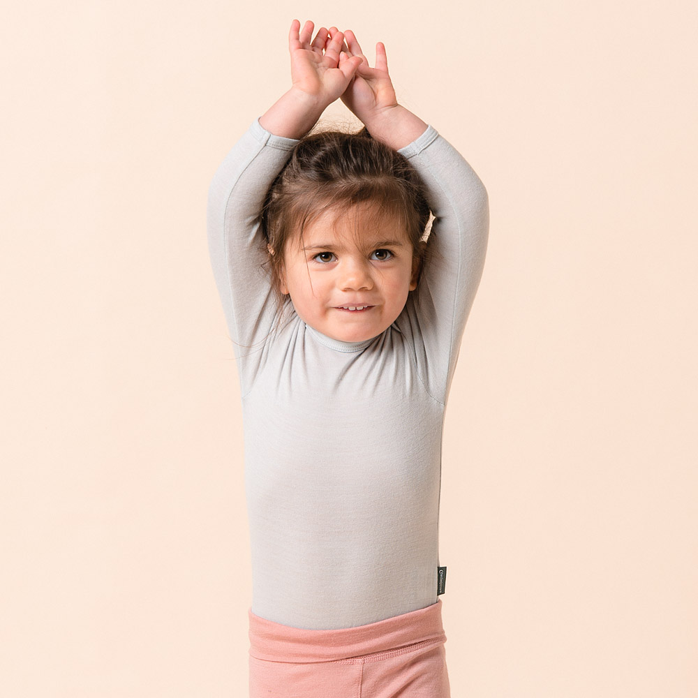 Jersey Merino - Long Sleeve Bodysuit