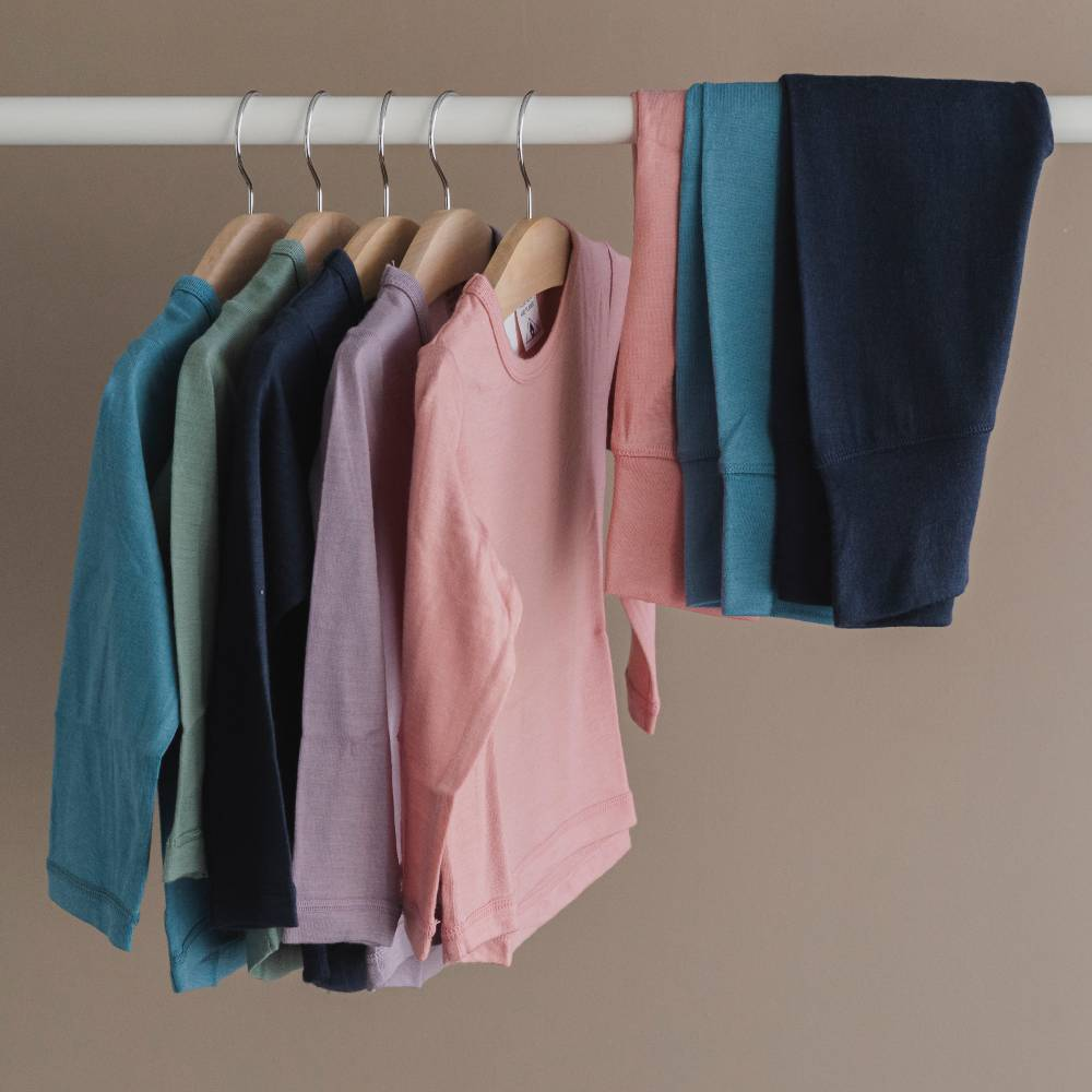 Jersey Merino - Long Sleeve Top
