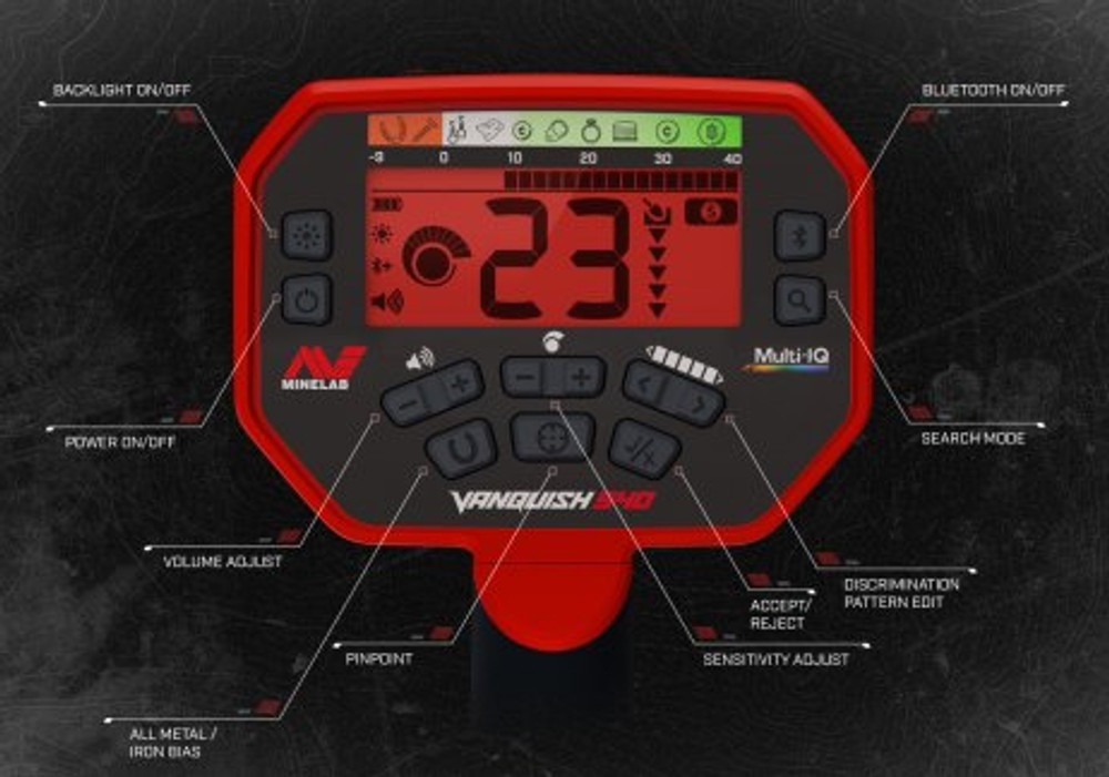 Vanquish 540 User Interface