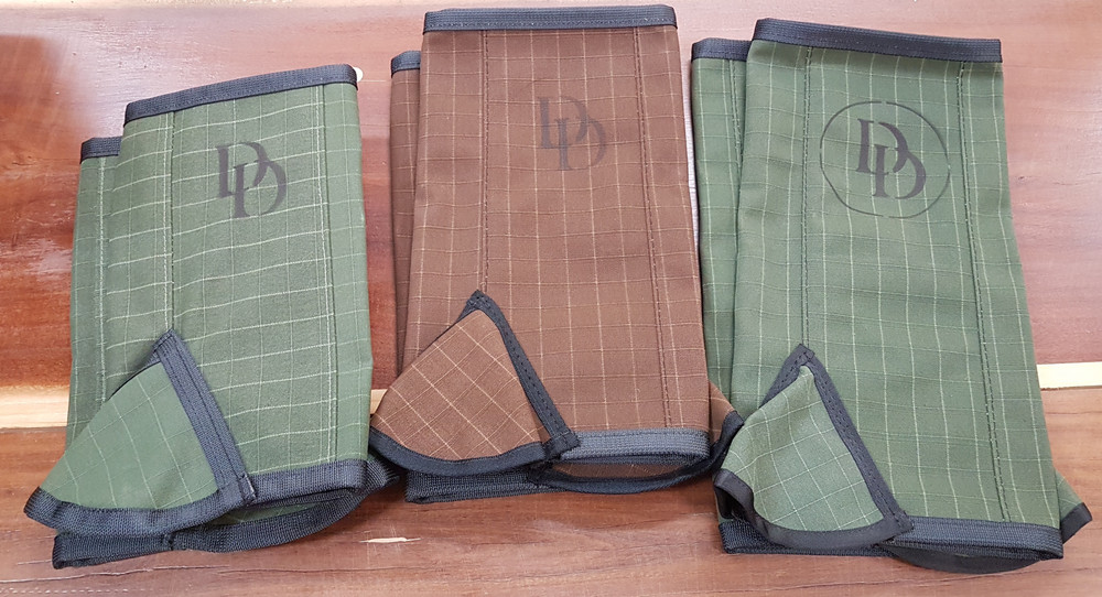 DD Leather canvas gaiters