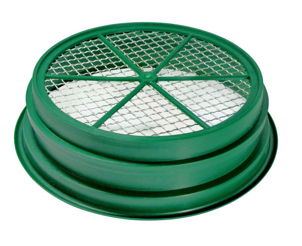 "Wire Sifting Pan (Mesh Size : 1/2"")"