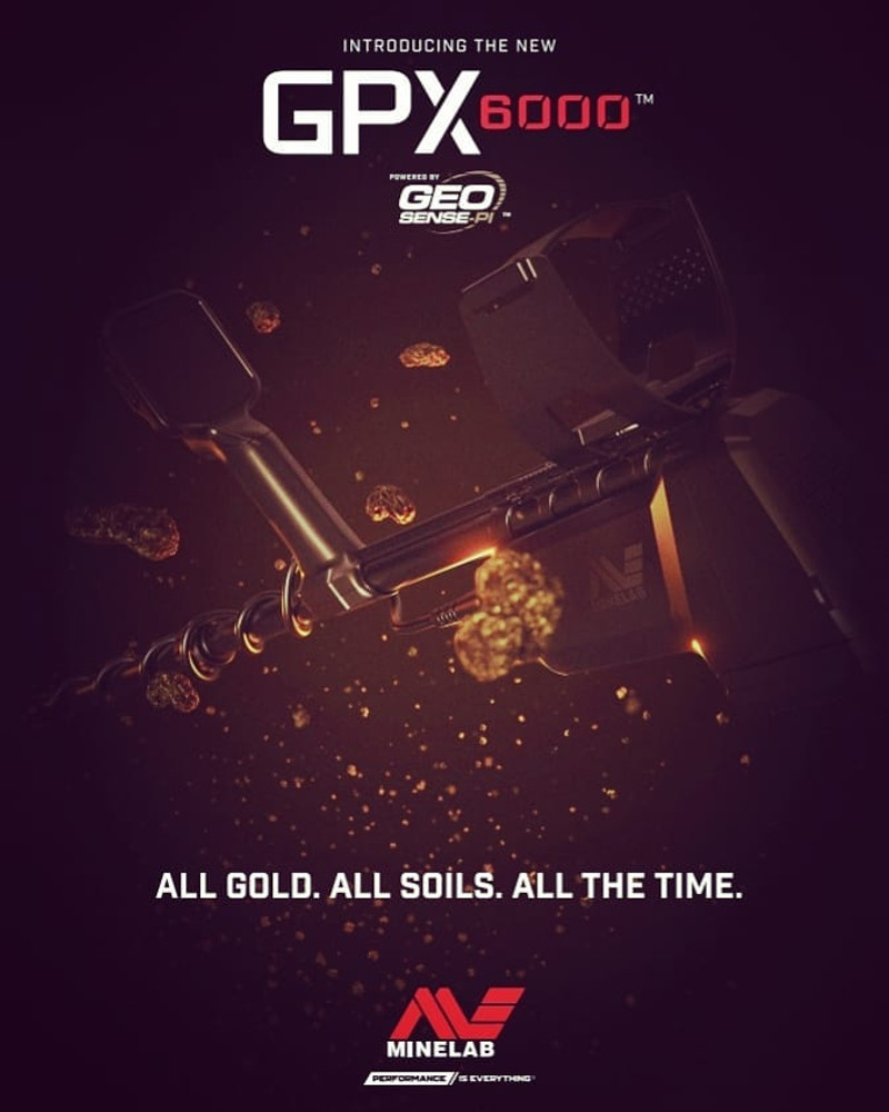 The new Minelab GPX 6000...when LESS is MORE