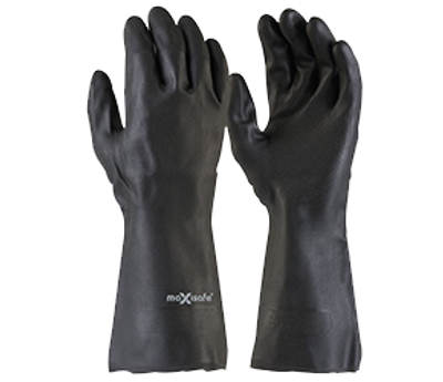 Maxisafe Black Neoprene Gauntlet