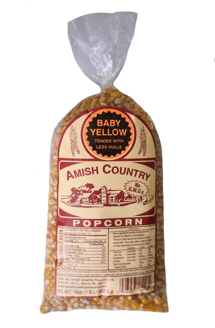 1LB Baby Yellow Popcorn