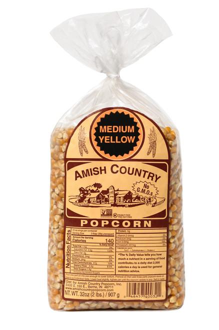 2LB Medium Yellow Popcorn
