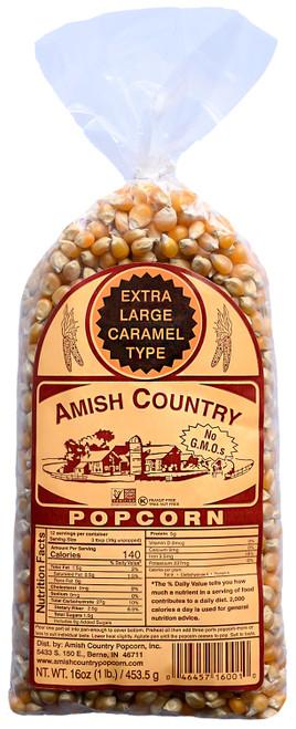 1LB Extra Large Caramel Type Popcorn