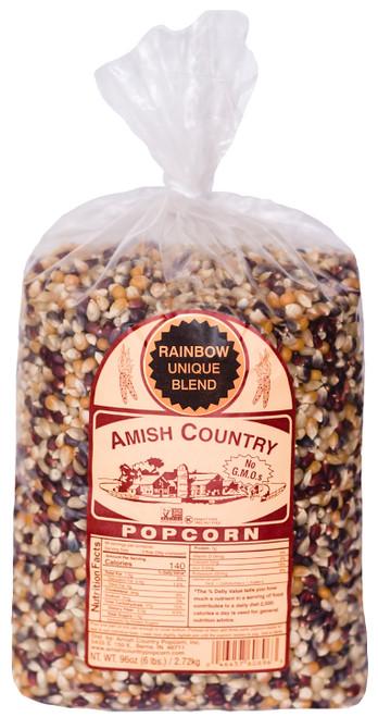 6LB Rainbow Popcorn