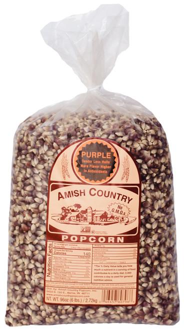 6LB Purple Popcorn
