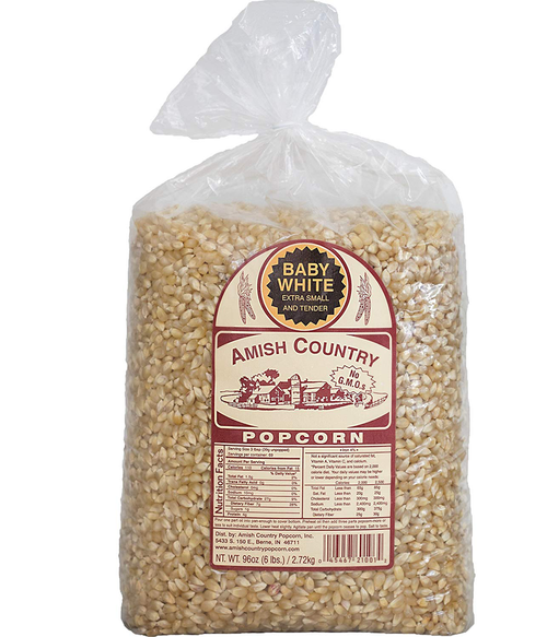 6LB Baby White Popcorn