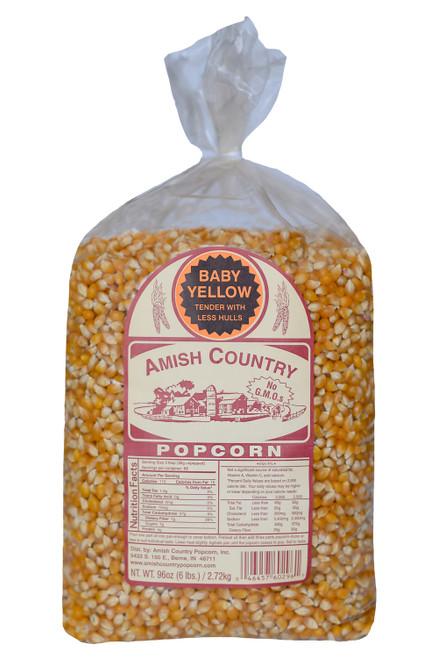 6LB Baby Yellow Popcorn