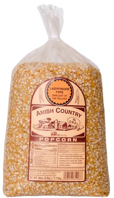 6LB Ladyfinger Popcorn