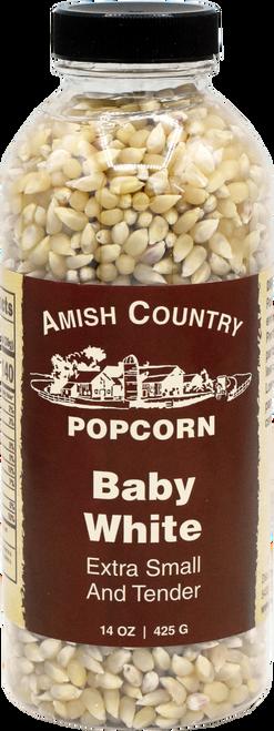 14oz. Bottle of Baby White Popcorn