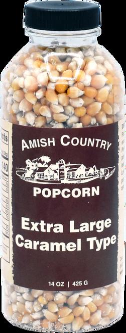 14oz. Bottle of Extra Large Caramel Popcorn