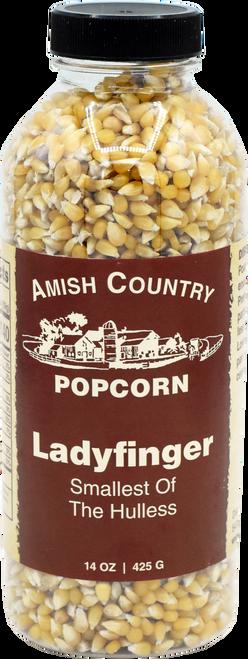 14oz. Bottle of Ladyfinger Popcorn