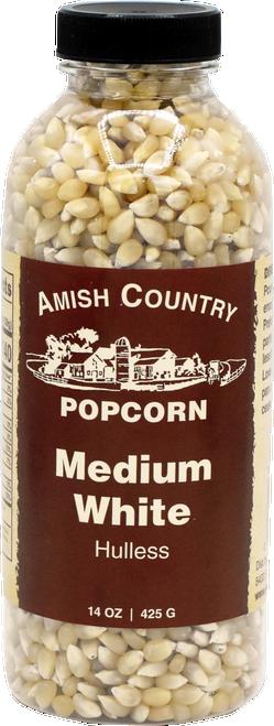 14oz. Bottle of Medium White Popcorn