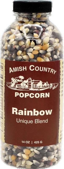 14oz. Bottle of Rainbow Popcorn