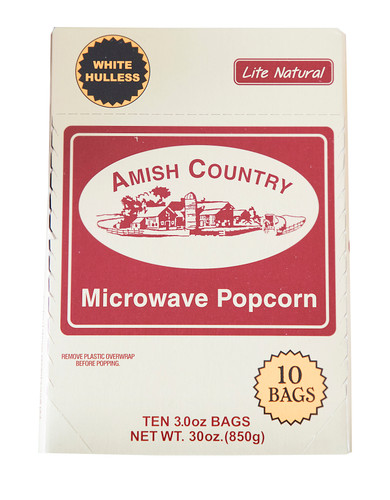 60ct Case Sweet Kettle Corn Microwave Hulless Popcorn (includes Free Shipping)