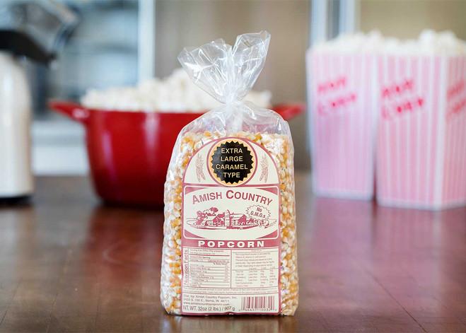 2LB Extra Large Caramel Type Popcorn