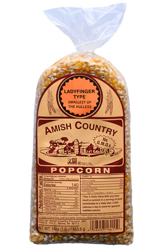 1LB Ladyfinger Popcorn