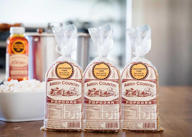 Ladyfinger One Pound Gift Box Non-GMO Popcorn