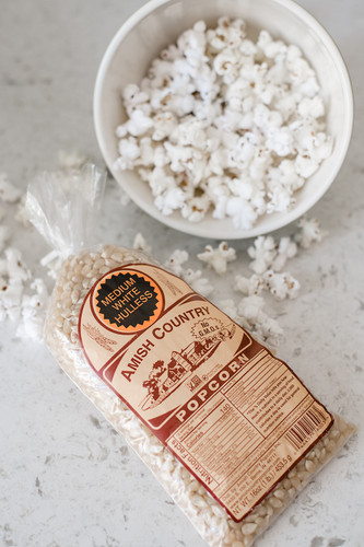 1LB Medium White Popcorn