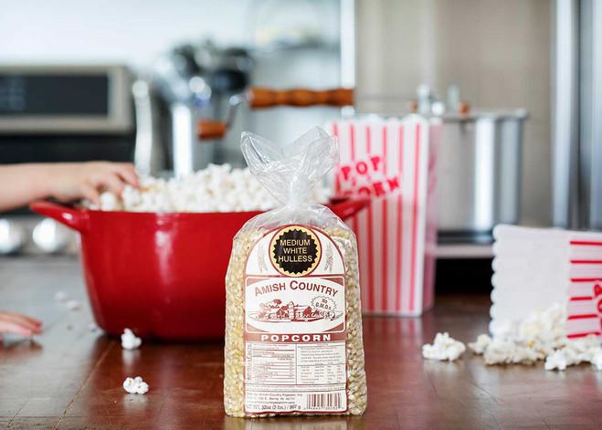 2LB Medium White Popcorn