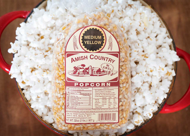 2LB Medium Yellow Popcorn