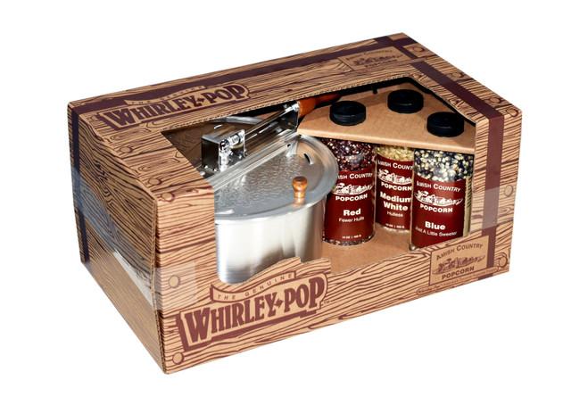 Whirley Pop Gift Set w/ 14oz. Bottles