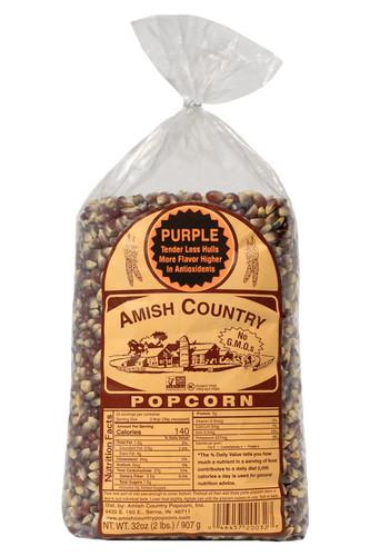 2LB Purple Popcorn