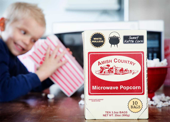 Sweet Kettle Corn Microwave Popcorn