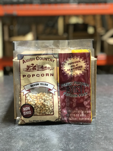 Yellow Non-GMO Popcorn Pack