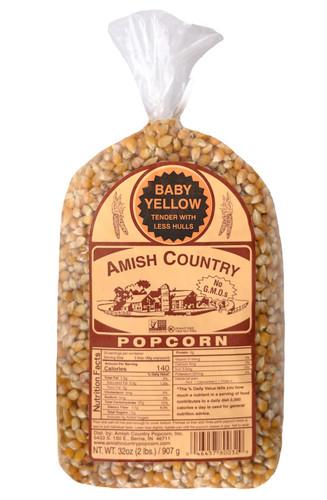 2LB Baby Yellow Popcorn