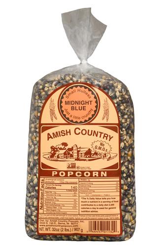 2LB Midnight Blue Popcorn
