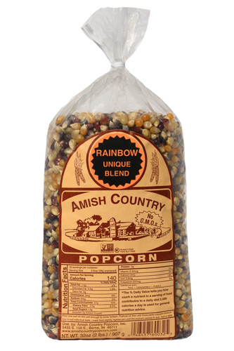 2LB Rainbow Popcorn