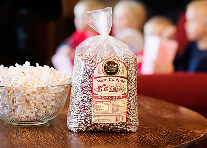 6LB Purple Non-GMO Popcorn | Amish Country Popcorn in Indiana