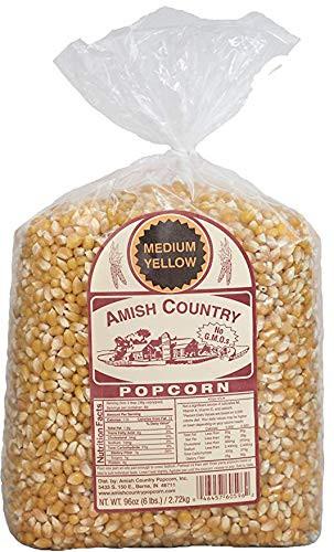 6LB Medium Yellow Popcorn