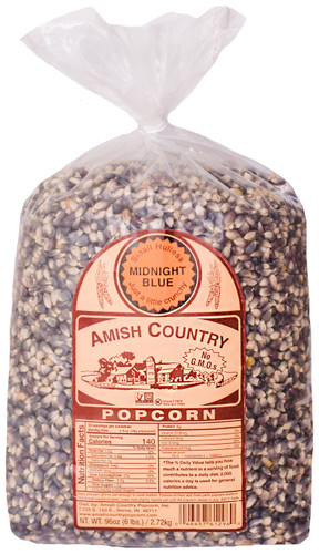 6LB Midnight Blue Popcorn