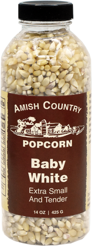 14oz. Bottle of Baby White Popcorn