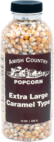 14oz. Bottle of Extra Large Caramel Popcorn
