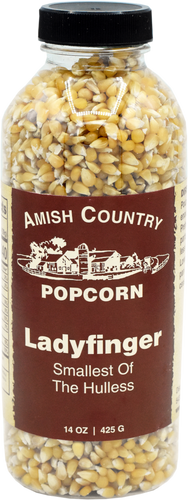 14oz. Bottle of Ladyfinger Popcorn
