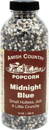 14oz. Bottle of Midnight Blue Popcorn