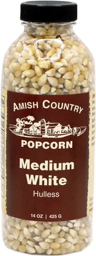 14oz. Bottle of Medium White Popcorn