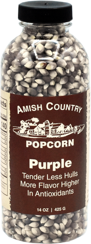 14oz. Bottle of Purple Popcorn