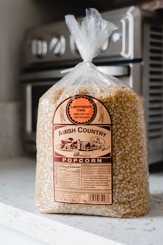One 6lb Non-GMO Bag of Popcorn