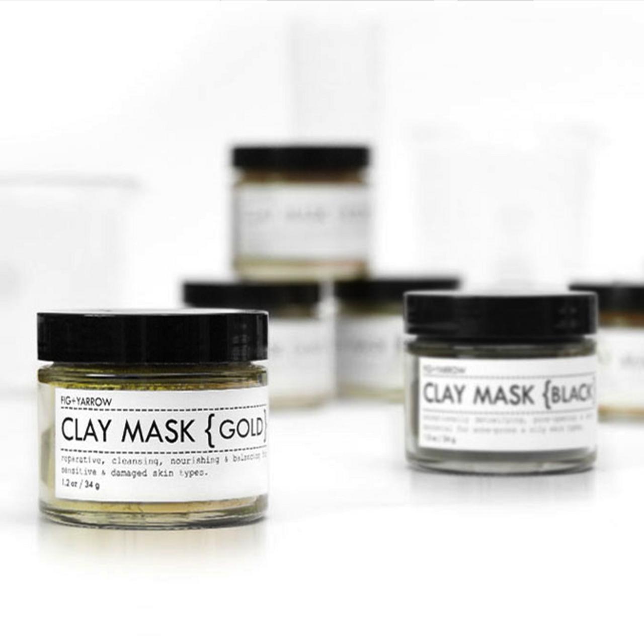 Fig & Yarrow Clay Masks