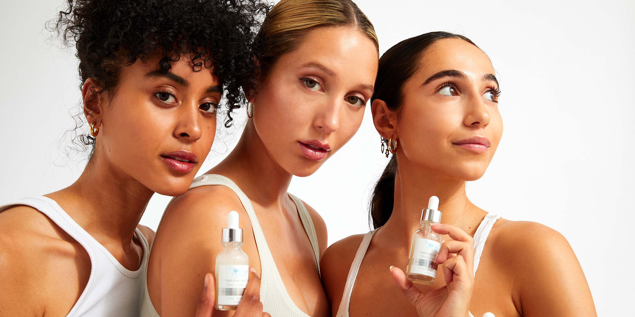 Celebrating the launch of TOP x Olympia of Greece Serum