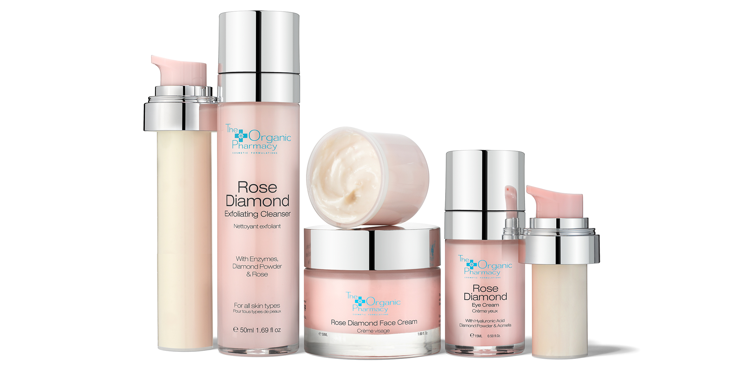 NEW Eco Refillable Rose Diamond Collection