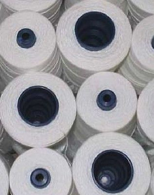 10 needles DNX1+10 Cones 100% Polyester Natural White Spool Thread for Portable